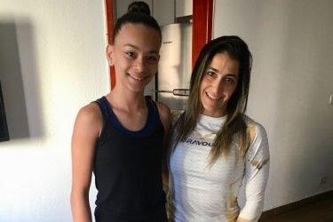 ¡Santin Group felicita a la gimnasta Delisiee Lavinia Oliveira Silva por el nuevo logro!